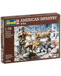 Фигури Revell - American Infantry WWII (02599) - 1t