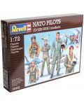 Фигури Revell - NATO PILOTS (D/GB/USA) modern (02402) - 1t