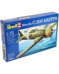 Сглобяем модел на военен самолет Revell - Macchi C.200 SAETTA (03991) - 3t