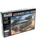 Сглобяем модел на танк Revell - Leopard 2 A6/A6M (03180) - 6t