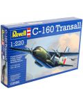 Сглобяем модел на военен самолет Revell - C160 Transall (03998) - 3t