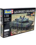 Сглобяем модел на танк Revell - LEOPARD 2 A5 / A5 NL (03187) - 5t