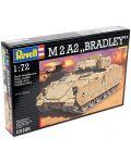 Сглобяем модел на танк Revell - M2 A2 Bradley (03185) - 2t