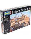 Сглобяем модел на танк Revell - PzKpfw. IV Ausf.H (03184) - 2t