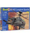 Сглобяем модел на хеликоптер Revell - AH-64D Longbow Apache (04046) - 7t