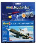 Сглобяем модел на военен самолет Revell - F-104 G Starfighter (04060) - 1t