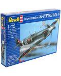 Сглобяем модел на военен самолет Revell - Spitfire Mk.V (04164) - 3t