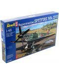 Сглобяем модел на военен самолет Revell - Spitfire Mk.XVI (04661) - 2t