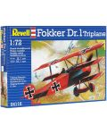 Сглобяем модел на военен самолет Revell - Fokker Dr. 1 Triplane (04116) - 7t