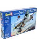 Сглобяем модел на военен самолет Revell Junkers - Ju 87 B-2 / R-2 Stuka (04620) - 2t