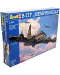 Сглобяем модел на военен самолет Revell - B-17F Memphis Belle (04297) - 7t