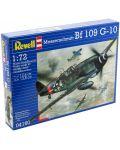 Сглобяем модел на военен самолет Revell - Messerschmitt Bf 109 G-10 (04160) - 3t