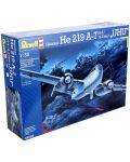 Сглобяем модел на военен самолет Revell Heinkel - He219 A-7/A-5/A-2 late UHU (04666) - 8t