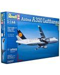 Сглобяем модел на самолет Revell - Airbus A320 Lufthansa (04267) - 3t