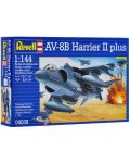 Сглобяем модел на военен самолет Revell - AV-8B Harrier II plus (04038) - 2t
