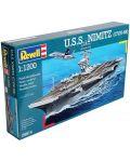Сглобяем модел на военен кораб Revell - U.S.S. Nimitz (CVN-68) (05814) - 3t