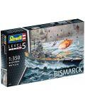 Сглобяем модел на военен кораб Revell - Battleship BISMARCK (05040) - 8t