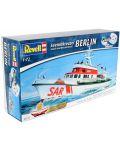 Сглобяем модел на кораб Revell - Search & Rescue Vessel BERLIN (05211) - 3t