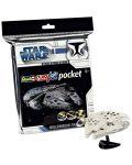 Сглобяем модел на космически кораб Revell Easykit Pocket STAR WARS - Millennium Falcon (06727) - 2t