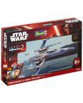 Сглобяем модел на космически кораб Revell Star Wars: Episode VII - Resistance X-Wing Fighter (06696) - 3t
