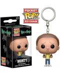 Ключодържател Funko Pocket Pop! Rick and Morty - Morty, 4 cm - 2t