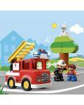 Конструктор Lego Duplo - Пожарникарски камион (10901) - 1t