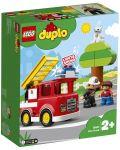 Конструктор Lego Duplo - Пожарникарски камион (10901) - 7t