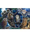 Пъзел Schmidt от 1000 части - Мистериозните сови, Лиса Паркър - 2t