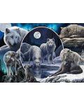 Пъзел Schmidt от 1000 части - Потайните вълци, Лиса Паркър - 2t
