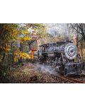 Пъзел Schmidt от 1000 части - Влакът в гората - 2t