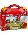 Конструктор Lego Juniors - Пожарникарски куфар (10685) - 1t