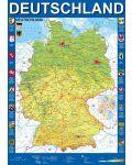 Пъзел Schmidt от 1000 части - Карта на Германия - 2t