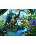 Пъзел Ravensburger от 100 XXL части - Земя на динозаври - 2t