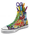 3D пъзел Ravensburger от 108 части - Обувка, графити - 2t