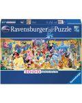 Панорамен пъзел Ravensburger от 1000 части - Героите на Дисни - 1t