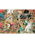 Пъзел Jumbo от 150 части - Залата на артистите, Ян ван Хаастерен - 2t