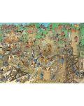 Пъзел Jumbo от 1000 части - Обсада на замъка, Ян ван Хаастерен - 2t
