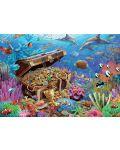Пъзел Jumbo от 1000 части - Подводно съкровище - 2t