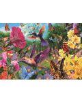 Пъзел Jumbo от 1500 части - Градината на колибритата - 2t