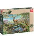 Пъзел Jumbo от 2000 части - Диво великолепие - 1t