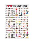 Макси плакат GB eye - I Love Gaming - 1t