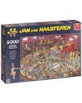 Пъзел Jumbo от 5000 части - Цирк, Ян ван Хаастерен - 1t