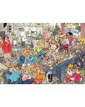 Пъзели Jumbo 2 х 1000 части - Коледните празници, Ян ван Хаастерен - 2t