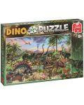Пъзел Jumbo от 300 части - Динозавър - 1t