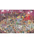 Пъзел Jumbo от 5000 части - Цирк, Ян ван Хаастерен - 2t