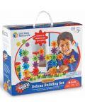 Детски конструктор със зъбни колела Learning Resources -100 части - 1t