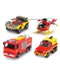 Игрален комплект Dickie Toys - Пожарникарят Сам (асортимент) - 2t