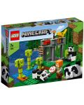 Конструктор Lego Minecraft - Детска градина за панди (21158) - 1t