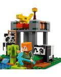 Конструктор Lego Minecraft - Детска градина за панди (21158) - 5t