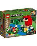 Конструктор Lego Minecraft - Фермата за вълна (21153) - 1t